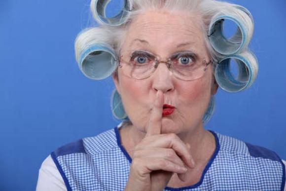 abuela coqueta