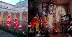 Obra de Yayoi Kusama y Nicolas Schöeffer expuesta en la Bienal 2005