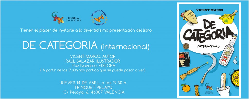 INVITACION DE CATEGORIA VALENCIA